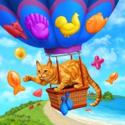 Friskies Stuffed Morsels cat food. Illustration for presentation to focus groups, and not published.
