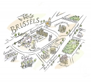 Ian-Mitchell-Brussels-Map-COLL