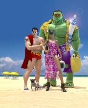 Matt-Roussel-Superhero-Vacation
