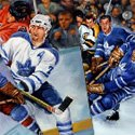 Ken Dewar Paints the Leafs