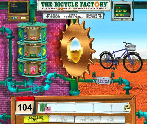 cadbury's bicycle factory