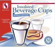 Kveta Package Foam Cups