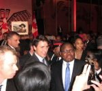 Justin Trudeau at Black History Month Stamp unveiling