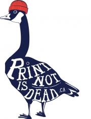 Cai Sepulis - Print is not Dead Goose